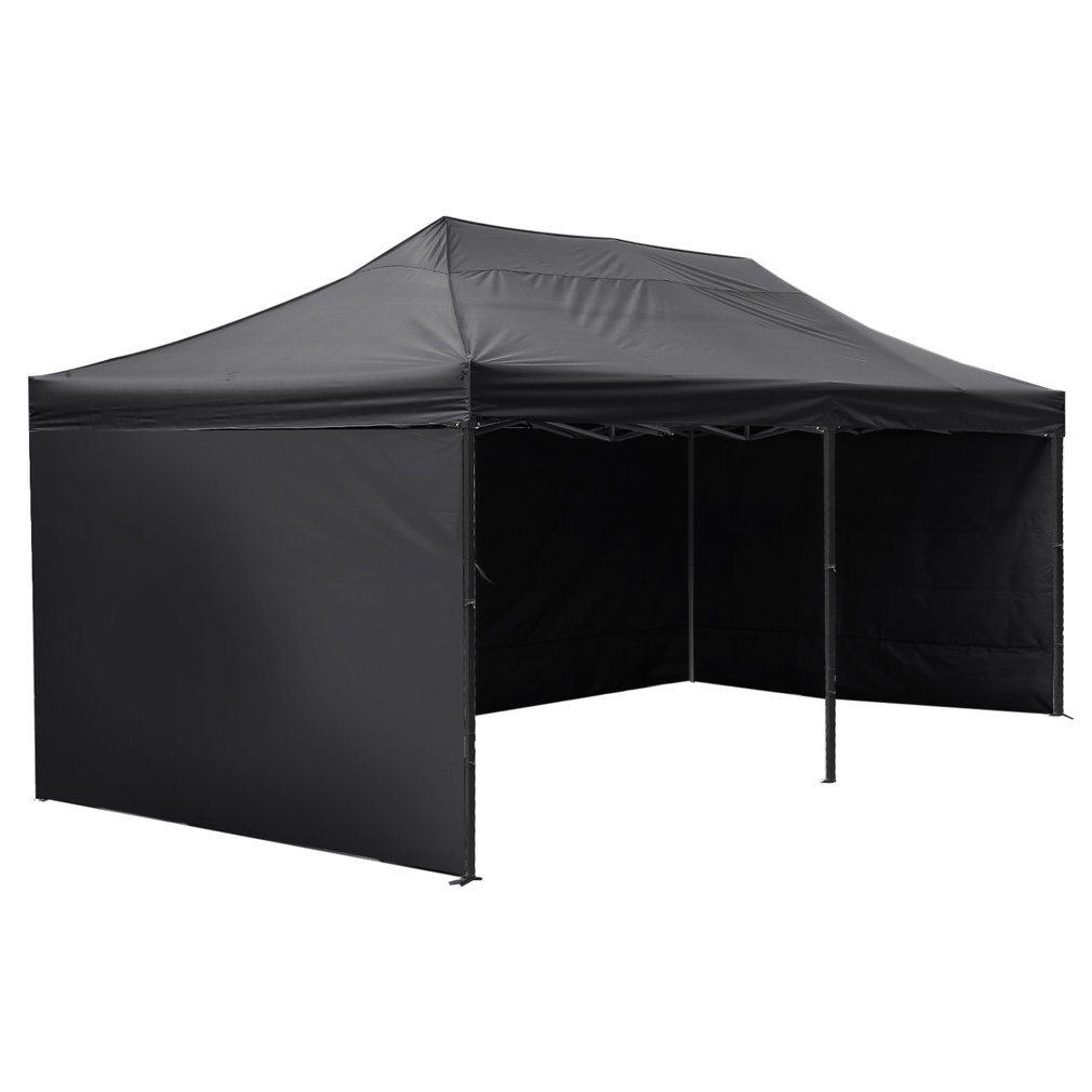 buy popular 25da9 01f5d Self Erect Pop-Up Tent 6x3m - Black